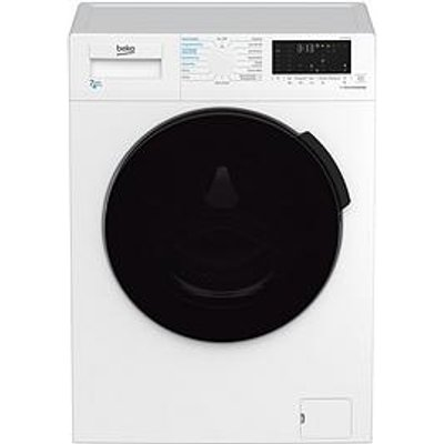 Beko Wdl742431W 7Kg Wash, Dry 4Kg, 1200 Spin Washer Dryer - White