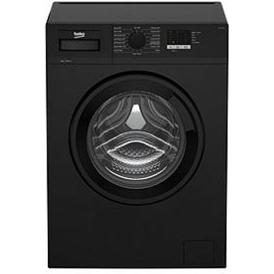 Beko Wtl74051B 7Kg Load, 1400 Spin Washing Machine - Black