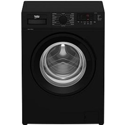 Beko Wtl84111B 8Kg Load, 1400 Spin Washing Machine - Black
