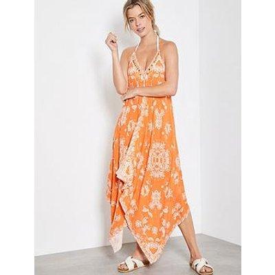 Mint Velvet Mint Velvet Hallie Print V-Neck Maxi Dress