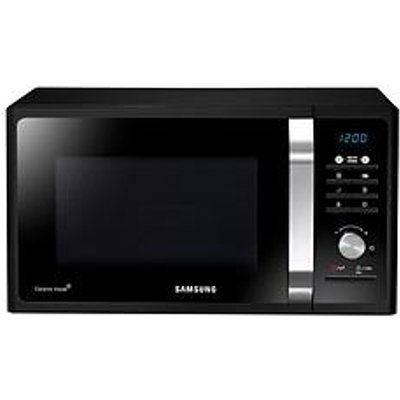 Samsung Ms23F301Tfk/Eu 23 Litre Solo Microwave - Black