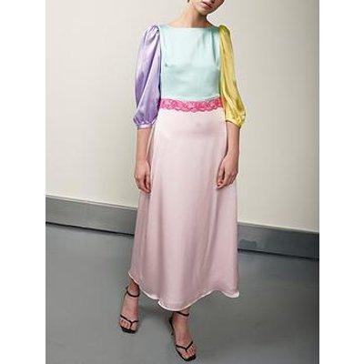 Olivia Rubin Lara Colourblock Dress - Multi