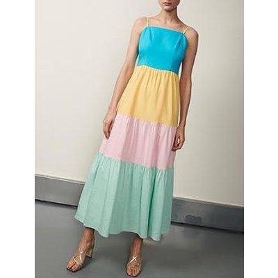 Olivia Rubin Cydney Colour Block Sundress - Multi