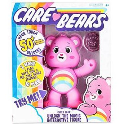 Care Bears Care Bears Unlock The Magic Interactive Figures - Cheer Bear