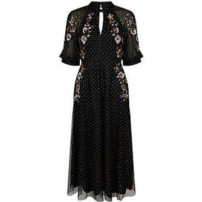 Monsoon Monsoon Gwenevere Sustainable Glitter Emb Dress