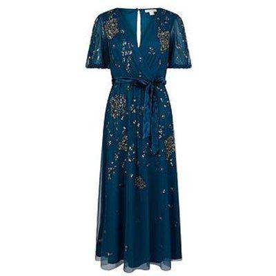 Monsoon Roza Embellished Midi Dress