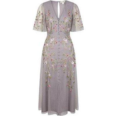 Monsoon Natalia Embellished Tea Dress