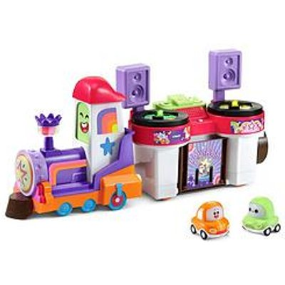 Vtech Toot-Toot Cory Carson Dj Train Trax & The Roll Train