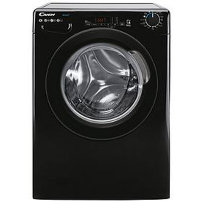 Candy Smart Cs 148Tbbe/1-80 8Kg Load, 1400 Spin Washing Machine - Black