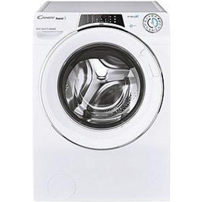 Candy Rapido Ro16106Dwmce-80 10Kg Wash, 1600 Spin Washing Machine - White