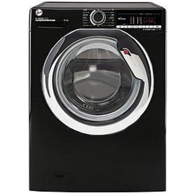 Hoover H-Wash 300 H3Ws4105Tacbe-80 10Kg Load, 1400 Spin Washing Machine - Black