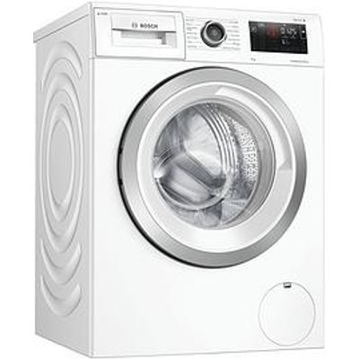 Bosch Wau28Ph9Gb 9Kg Wash, 1400 Spin Washing Machine - Silver / White Door