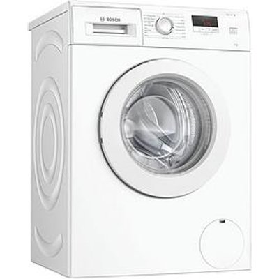 Bosch Waj24006Gb 7Kg Wash, 1200 Spin Washing Machine - White / Silver Door