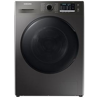 Samsung Series 5 Wd80Ta046Bx/Eu With Ecobubble&Trade; 8/5Kg Washer Dryer, 1400Rpm, E Rated - Graphite