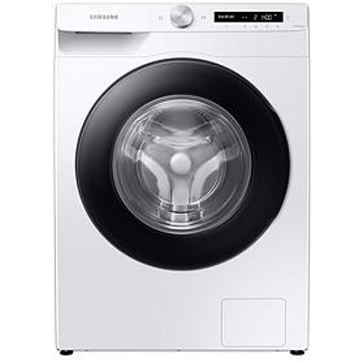 Samsung Ww90T534Daw/S1 9Kg Load, 1400 Spin Auto Dose Washing Machine - White