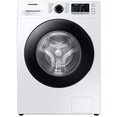 Samsung Ww90Ta046Ae/Eu 9Kg Load, 1400 Spin Washing Machine With Ecobubble&Trade; - White