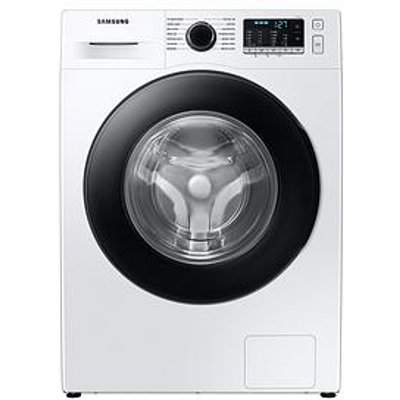Samsung Ww80Ta046Ae/Eu 8Kg Load 1400 Spin Washing Machine With Ecobubble&Trade; - White