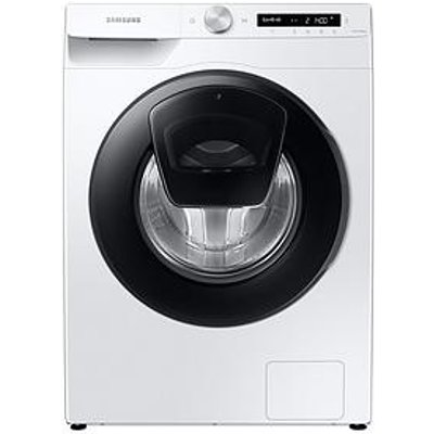 Samsung Ww90T554Daw/S1 9Kg Load, 1400 Spin Addwash&Trade; Washing Machine - White