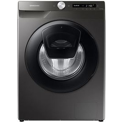 Samsung Series 5+ Ww80T554Dan/S1 With Addwash&Trade; 8Kg Washing Machine, 1400Rpm, B Rated - Graphite