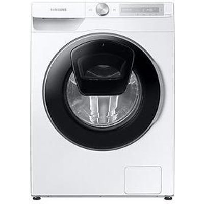 Samsung Ww90T684Dlh/S1 9Kg Load, 1400 Spin Addwash&Trade; Washing Machine With Auto Dose - White
