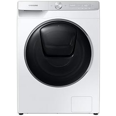 Samsung Ww90T986Dsh/S1 9Kg Load, 1600 Spin Quickdrive&Trade; Washing Machine With Addwash&Trade; And Auto Optimal Wash - White