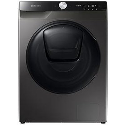 Samsung Ww90T854Dbx/S1 9Kg Load, 1400 Spin Quickdrive&Trade; Washing Machine With Addwash&Trade; - Graphite