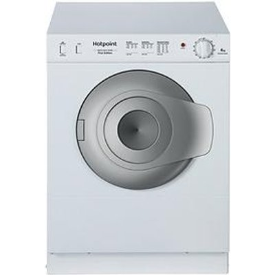 Hotpoint Nv4D01P 4Kg Load, Compact Vented Tumble Dryer - White