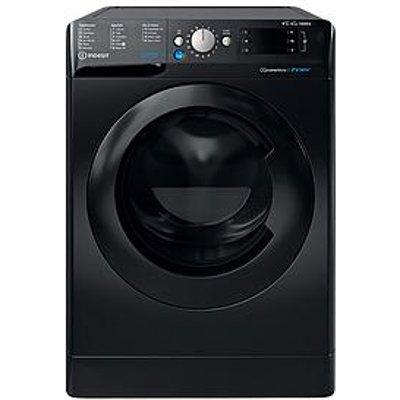 Indesit Bde861483Xkukn 8Kg Wash, 6Kg Dry, 1400 Spin Washer Dryer - Black