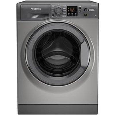 Hotpoint Nswm863Cggukn 8Kg Load, 1600 Spin Washing Machine - Graphite