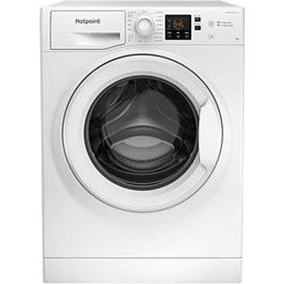 Hotpoint Nswm963Cwukn 9Kg Load, 1600 Spin Washing Machine - White