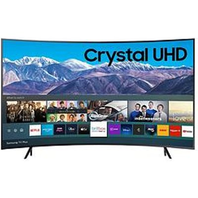 Samsung Ue55Tu8300Kxxu, 55 Inch, Curved Crystal Uhd, 4K Hdr, Smart Tv