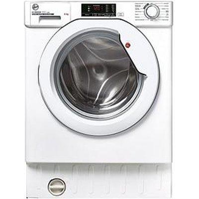 Hoover Hbws 49D1E 8Kg Washing Machine - White - Washing Machine With Installation