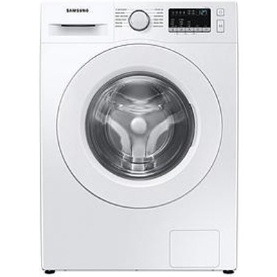 Samsung Ww80T4040Ee/Eu 8Kg Load, 1400 Spin Washing Machine With Hygiene Steam - White