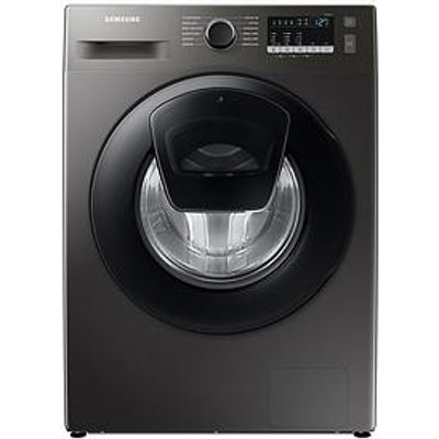Samsung Series 5 Ww90T4540Ax/Eu With Ecobubble&Trade; 9Kg Washing Machine, 1400Rpm, D Rated - Graphite