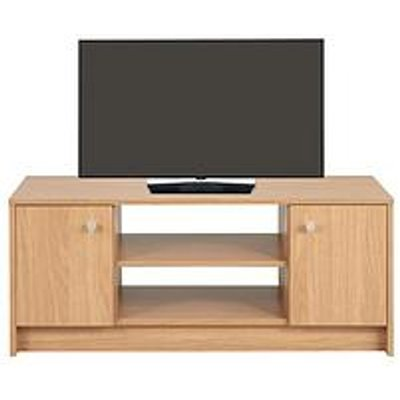 Home Essentials - Oslo Large Tv Unit - Fits Up To 40 Inch Tv