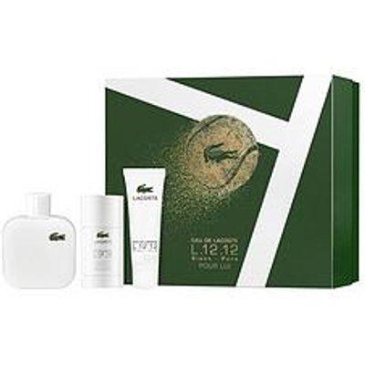 Lacoste L.12.12 Blanc For Men 100Ml Eau De Toilette, 75Ml Deo Stick + 50Ml Shower Gel Gift Set