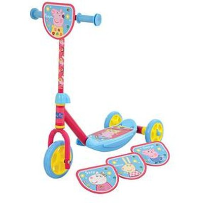 Peppa Pig 'Switch It' Multi Character Tri Scooter