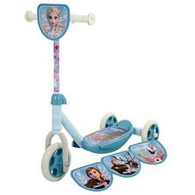 """Disney Frozen Frozen """"Switch It"""" Multi Character Tri Scooter"""