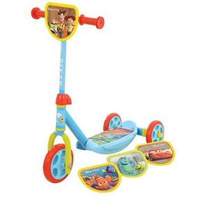 "Disney Disney Pixar ""Switch It"" Multi Character Tri Scooter"
