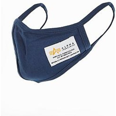 Alpha Industries Crew Face Mask - Blue