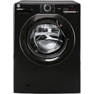 Hoover H-Wash 300 H3W 482Dbbe 8Kg 1400 Spin Washing Machine - Black