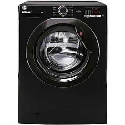 Hoover H-Wash 300 H3W 482Dbbe 8Kg 1400 Spin Washing Machine - Black