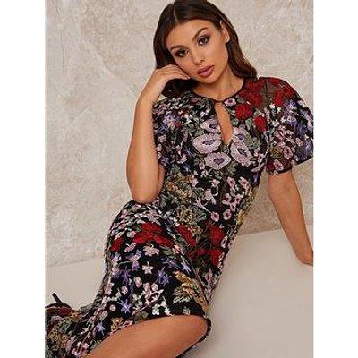 Chi Chi London Jorja Dress - Black