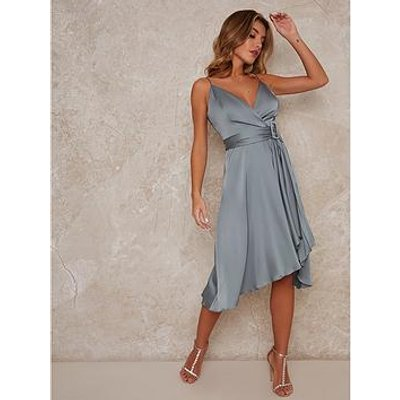 Chi Chi London Jennifer Bridesmaid Dress - Green
