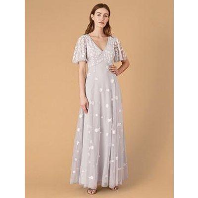 Monsoon Kaitlyn Sustainable Emb Maxi Dress