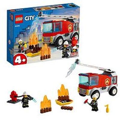 Lego City Fire Ladder Truck Building Set 60280