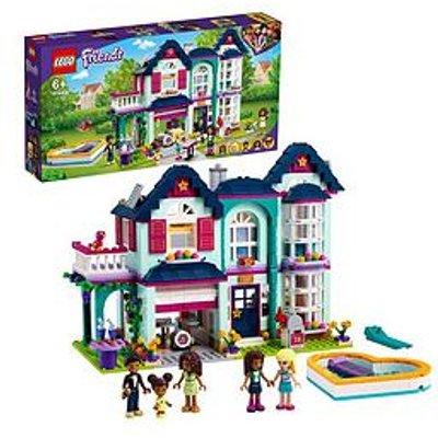 Lego Friends Andrea'S Family House Dollhouse Playset 41449