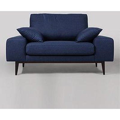 Swoon Tulum Original Fabric Love Seat - Soft Wool