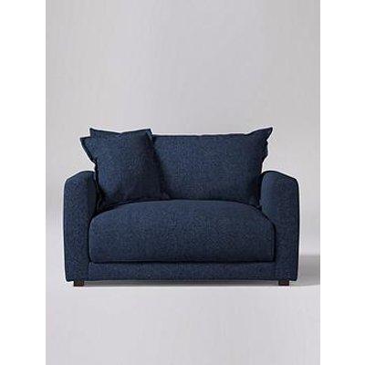 Swoon Aurora Original Fabric Love Seat - Soft Wool