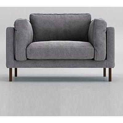 Swoon Munich Original Fabric Love Seat - Smart Wool